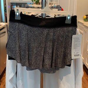 Lululemon Quick Pace Skirt - Built In Spanks